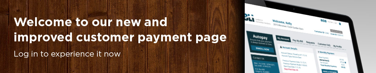 Welcome to our new and improved customer payment page.  Log In to experience it now.